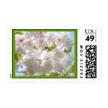 Spring Tree Blossoms postage stamps Floral