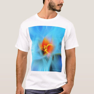 Spring Tree Bud SpinArt T-shirt