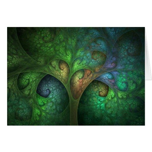 """Spring Tree"" Greeting Cards"