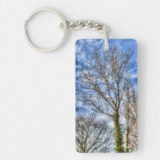 Spring Tree Keychain