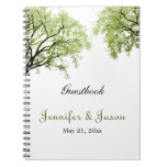 Spring Trees 2 - Notebook - Guestbook