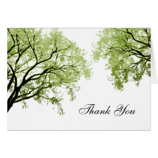 Spring Trees 2 - Thank You Card