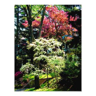 "Spring Trees 4.25"" X 5.5"" Invitation Card"