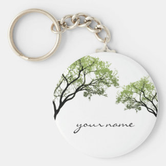 Spring Trees Keychain