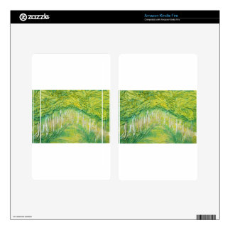 Spring Trees Kindle Fire Skins