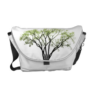 Spring Trees Rickshaw Messenger Bag