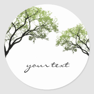 Spring Trees Sticker