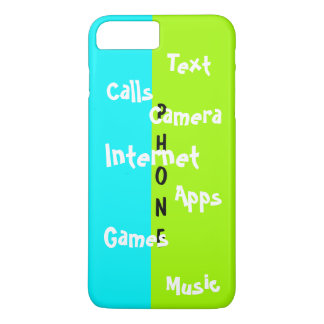 Spring Trendy iPhone Case Lime Colorblock Fun 21