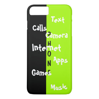 Spring Trendy iPhone Case Lime Colorblock Fun 31