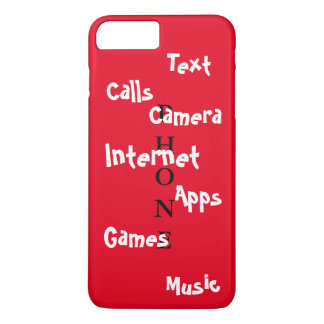Spring Trendy iPhone Case Red Colorblock Fun