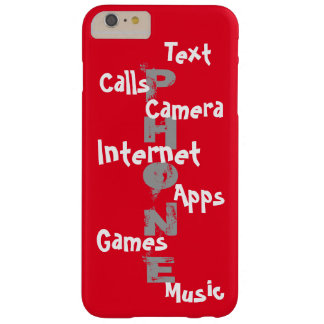 Spring Trendy iPhone Case Red Colorblock Fun 14 Barely There iPhone 6 Plus Case