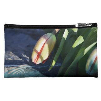 Spring Tulip Cosmetic Bag
