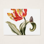 Spring Tulip Floral Landscaping Business Card