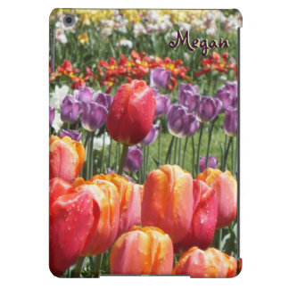 Spring Tulip Garden iPad Air Case -Personalize