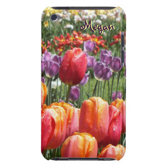 Spring Tulip Garden iPod Touch 4th Gen Case