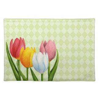 Spring Tulips 2 American MoJo Placemats