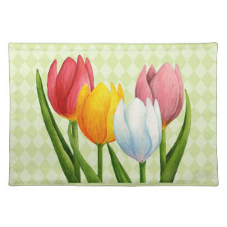 Spring Tulips 3 American MoJo Placemats