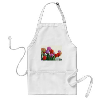 Spring Tulips Adult Apron