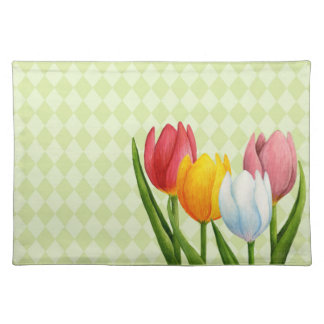 Spring Tulips American MoJo Placemats