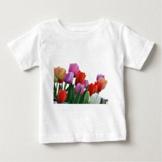Spring Tulips Baby T-Shirt