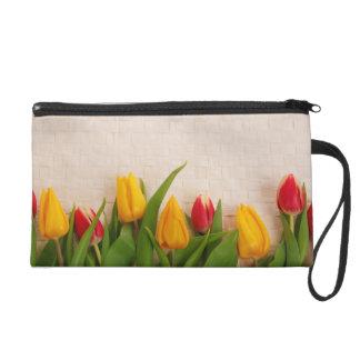Spring Tulips Wristlets