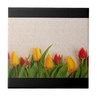 Spring Tulips Ceramic Tiles