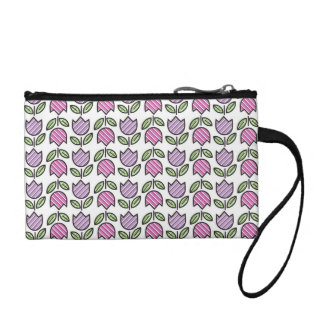 Spring Tulips Coin Wallet