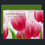 "Spring Tulips Custom Easter Brunch Invitations<br><div class=""desc"">Happy Easter. Spring Tulip Design Personalized Easter Brunch Invitations. Matching cards in various languages ,  postage stamps and other products available in the Holidays / Easter Category of our store. Happy Easter,  Buona Pasqua,  Felices Pascuas,  Frohe Ostern,  Joyeuses Pâques,  Feliz Páscoa ,  Szczęśliwej Wielkanocy .</div>"