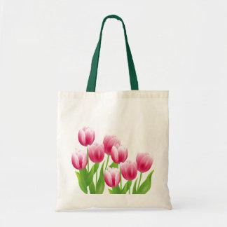 Spring Tulips. Easter Gift Bag