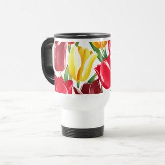 Spring Tulips Easter Gift Mugs