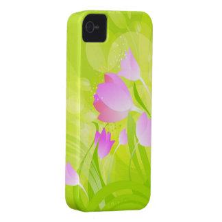 Spring Tulips iPhone 4 Case