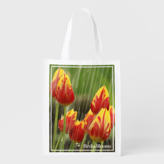 Spring Tulips Market Totes