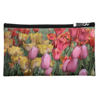 Spring Tulips Medium Cosmetic Bag