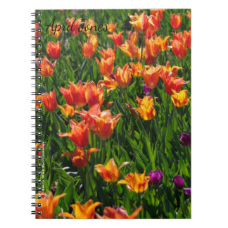 Spring Tulips Notebook