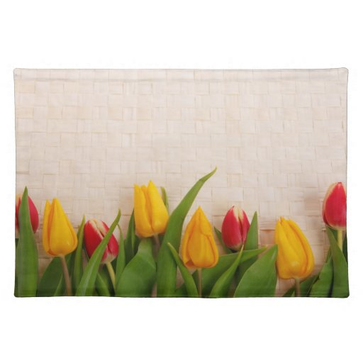 Spring Tulips Placemats