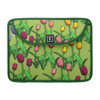 Spring Tulips Sleeves For MacBook Pro
