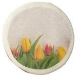 Spring Tulips Sugar Cookie