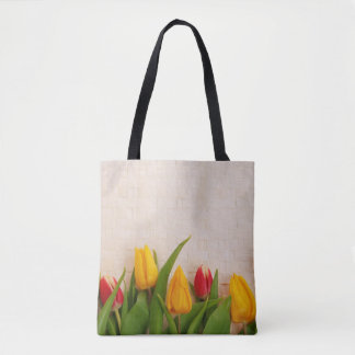 Spring Tulips Tote Bag