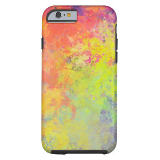 Spring Tulips Watercolor Tough iPhone 6 Case