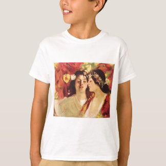 Spring (Two Muses) by Stefan Luchian T-Shirt