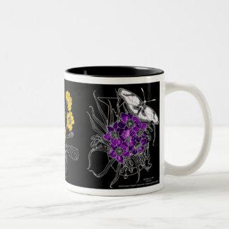 Spring Two-Tone Coffee Mug