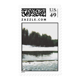 spring  valley   thaw postage stamp