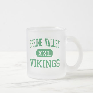 Spring Valley - Vikings - High - Columbia 10 Oz Frosted Glass Coffee Mug