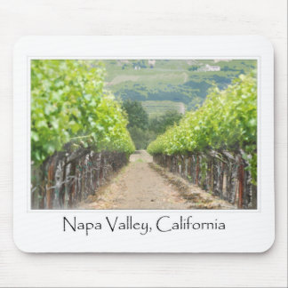 Spring Vineyard in Napa Valley California Mouse Pad