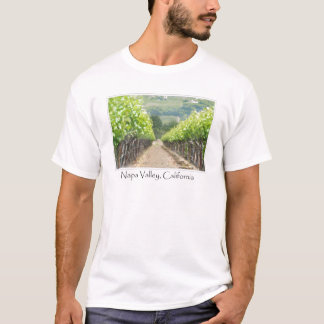 Spring Vineyard in Napa Valley California T-Shirt