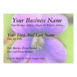 Spring Violet - Purple Power! Large Business Cards (Pack Of 100)