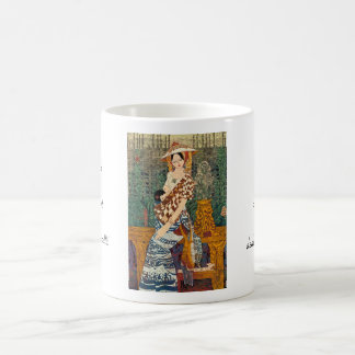 Spring Warmth Chen Yongle oriental lady and child Coffee Mug