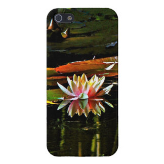 SPRING WATER LILY IN A POND iPhone SE/5/5s CASE