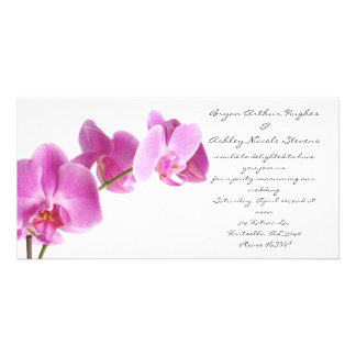 spring wedding card