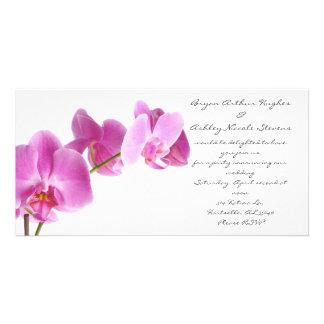 spring wedding photo card